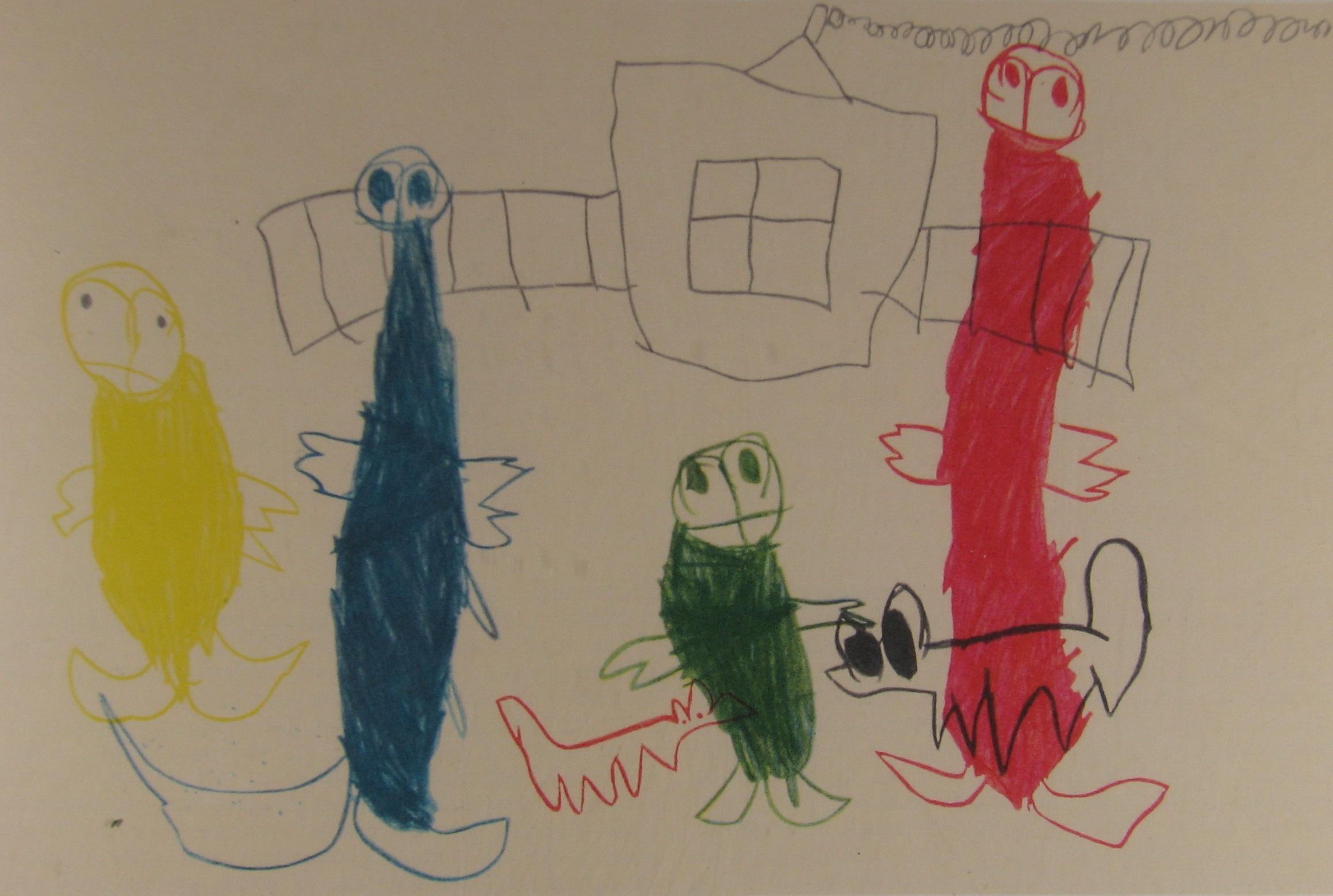 доктора рисунки детей больных шизофренией лишь